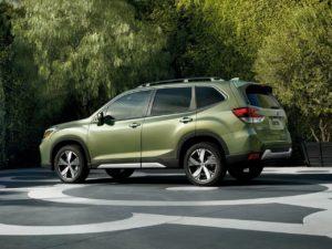 Subaru Forester левый бок