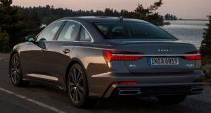 Audi A6 C8 зад