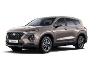 Hyundai Santa Fe перед
