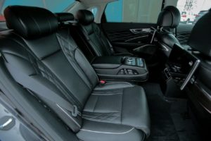 Kia K900 задний диван