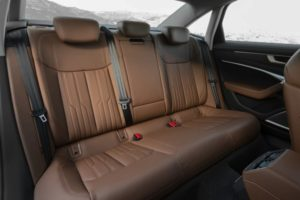 Audi A6 C8 задний диван