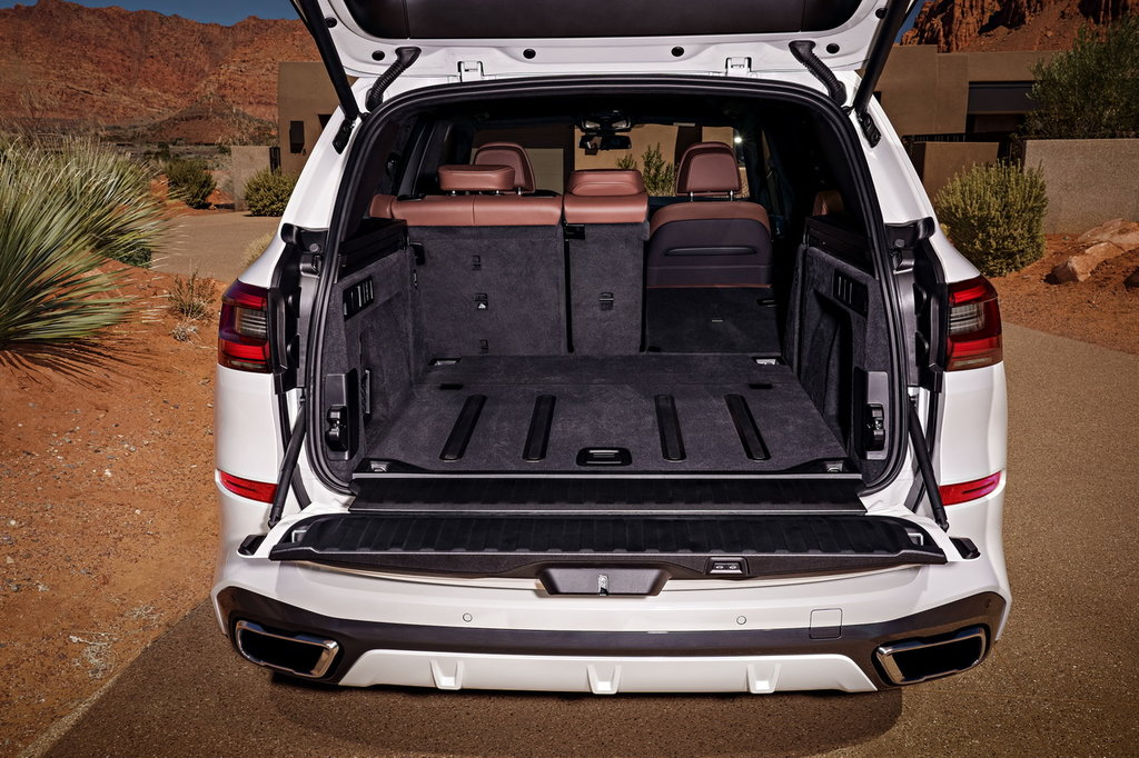BMW X5 багажник
