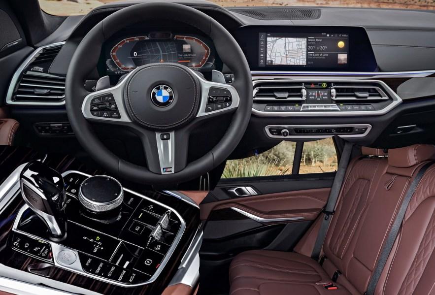 BMW X5 салон