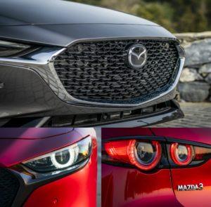 Mazda 3 коллаж перед
