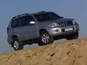 Land Cruiser Prado спереди