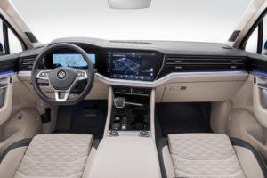 Volkswagen Touareg место водителя