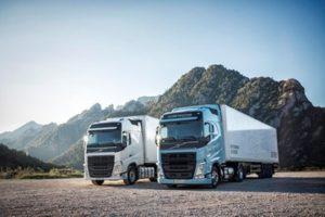 Газодизельные тягачи Volvo