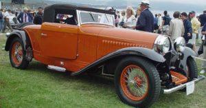 Bugatti Type 46 спереди