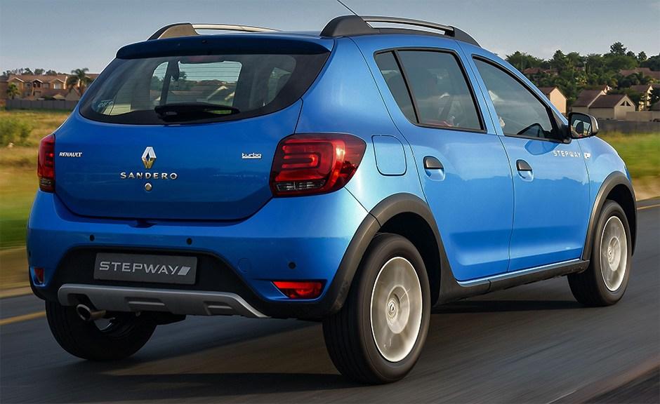 Renault Sandero Stepway сзади