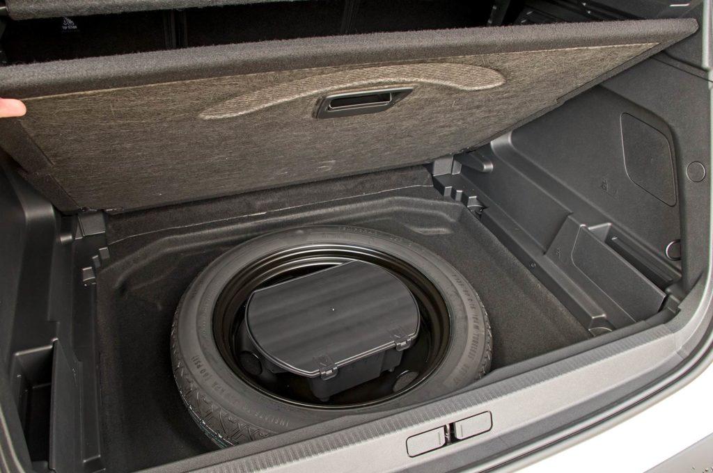 Citroen C5 Aircross подполье багажника
