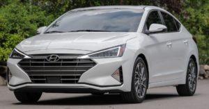 Hyundai Elantra спереди