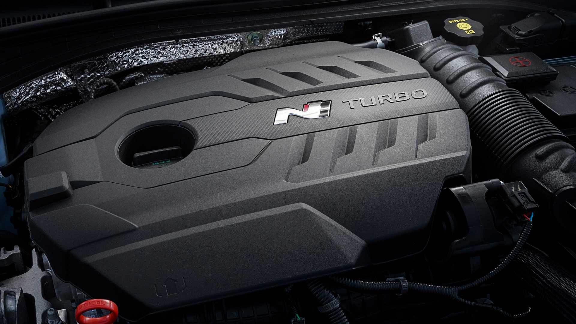 Hyundai i30 N двигатель