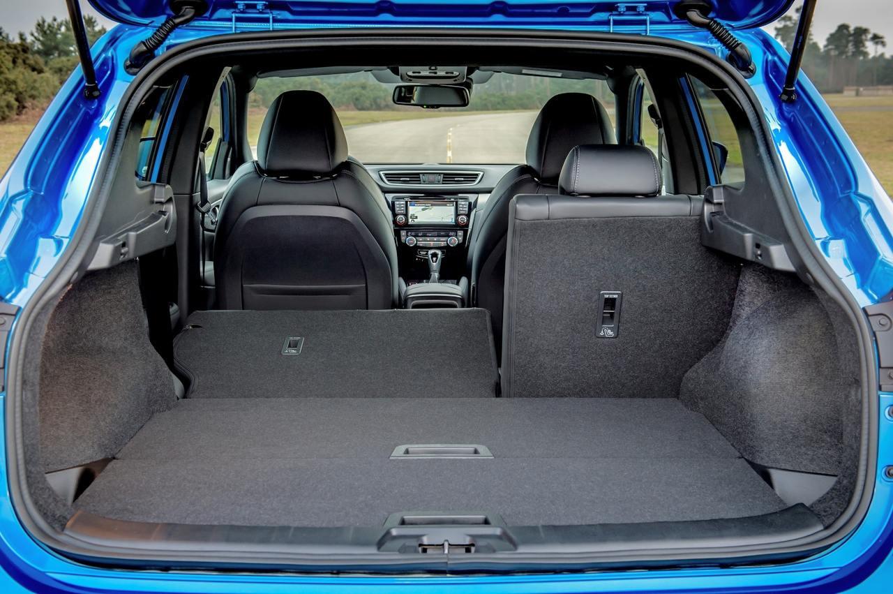 Nissan Qashqai багажник