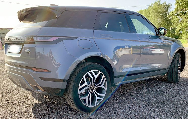 Land Rover Range Rover Evoque сзади