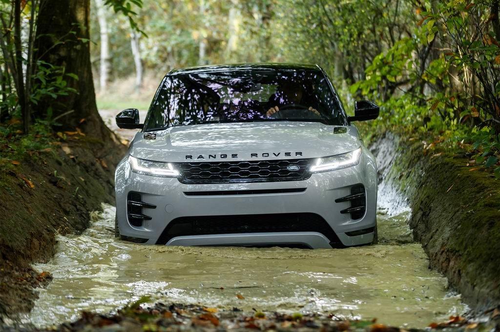 Land Rover Range Rover Evoque брод