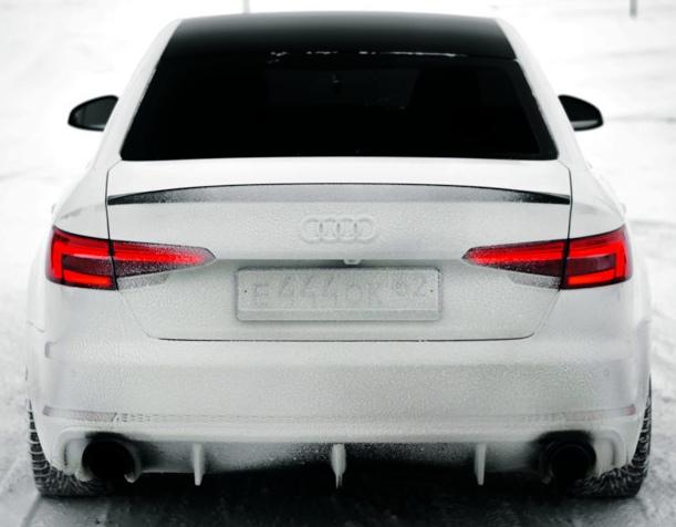 Audi A4 сзади