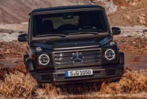 Mercedes-Benz G-Class G500 спереди