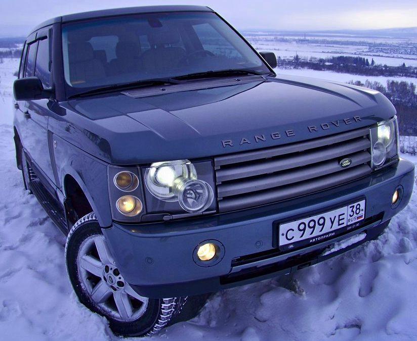 Land Rover Range Rover дорестайлинг