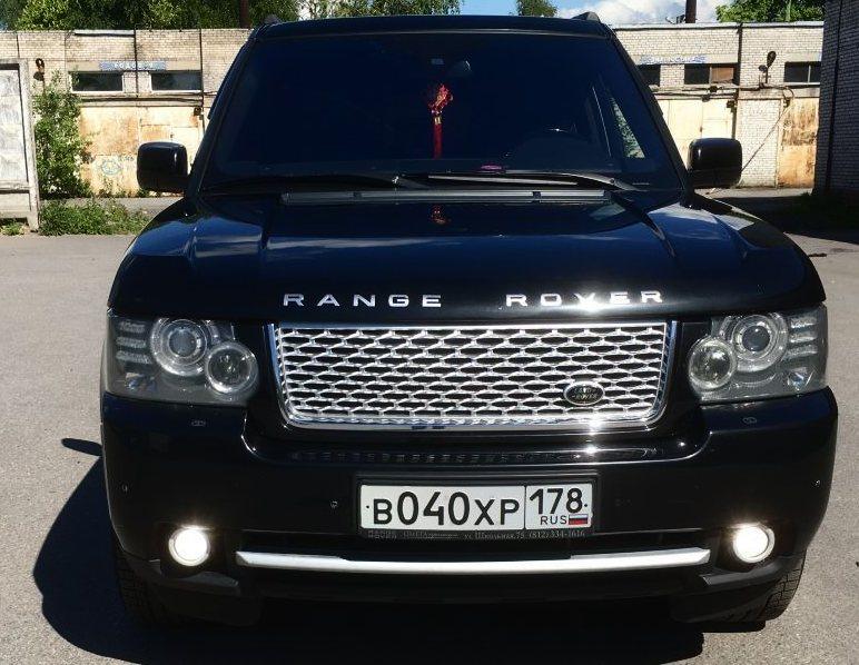 Land Rover Range Rover второй рестайлинг