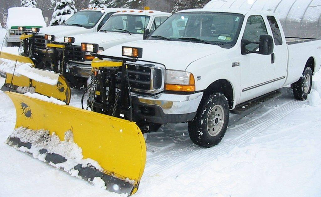 Пикап-снегоуборщик