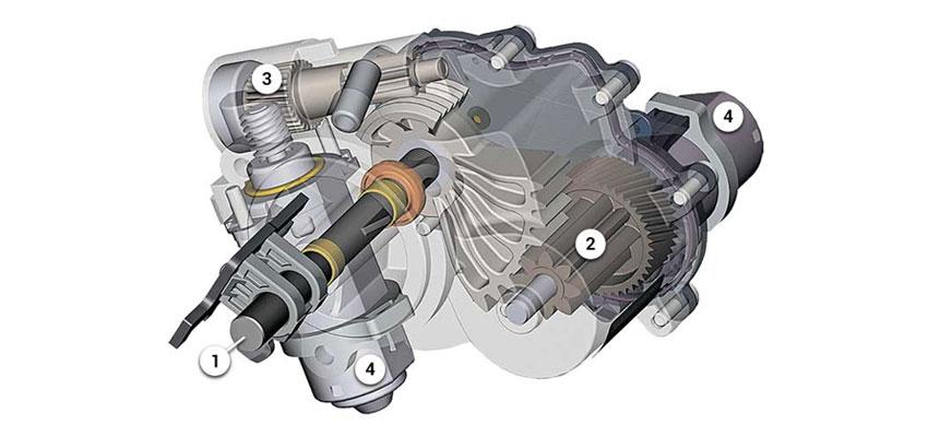 исполнительный механизм переключения передач